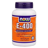 NOW Foods E- 400 100 softgels
