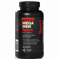GNC Mega Men Sport 180caps