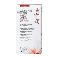 GNC Womens Ultra Active No Iron 90caps