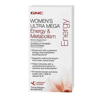 GNC Womens Ultra Mega Energy Metaboli 180caps