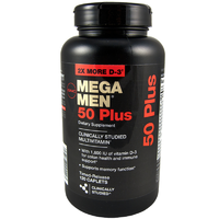 GNC Mega Men 50 Plus 120caps