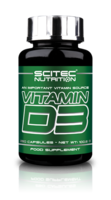 Scitec Nutrition Vitamin-D3 250 caps