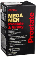 GNC Mega Men Prostate & Virtility 90caps
