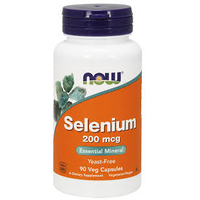 NOW Selenium 200mcg 90 caps
