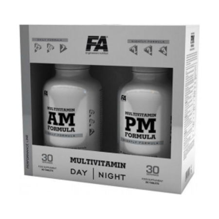 Fitness Authority Multivitamin AM&PM Formula 2x90tab